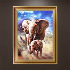DIY 5D Diamond Painting Elephant Embroidery Cross Stitch Crafts Home Decor