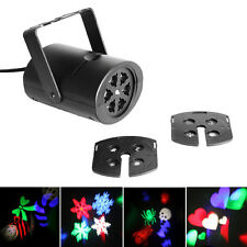 8Pattern Projector DJ Disco Light Stage RGBW Party Effect Laser Lighting Show 4W