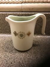 Harker Pottery Harkerware Green/White CREAMER