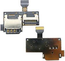 SAMSUNG I9195 GALAXY S4 MINI VASSOIO SIM SD CARD MICRO rearder conduttore cavo flessibile