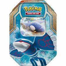 NEW POKEMON Legends of Hoenn Tin - Kyogre EX x booster packs