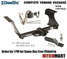 """FOR 2009-2013 SUBARU FORESTER CLASS 3 TRAILER HITCH PACKAGE w 1 7/8"""" BALL  75650"""