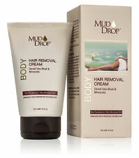 Mud Drop - Instant Hair Removal Cream, Sensitive Formula Hair Remover, Dead Sea