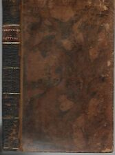 Letters from A Late Eminent Prelate to One of his Friends. 1st.Am. ed. 1809.