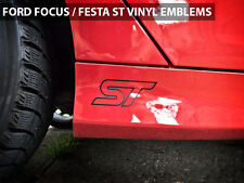 "2013 Ford Focus ST / Fiesta ST Emblems Stickers Decals ""ST"" Logo Style 2"
