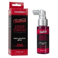 Doc Johnson buena cabeza Garganta Profunda Anti Gag Spray Wild Cherry Sabor 59ml