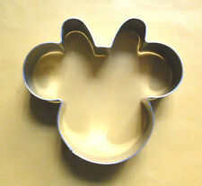 """4"""" Minnie Mouse baking fondant pastry biscuit cookie cutter mold"""