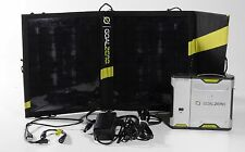 Goal Zero Sherpa 50 Rechargeable Inverter with Power Pack Nomad 13 Solar Panel