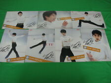 Yuzuru Hanyu Figure Skating Clear File Folder Sochi Olympic 7 Complete Set NEW