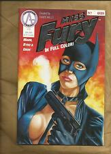 Miss Fury 1 1991 rare special numbered edition like Catwoman Adventure Comics