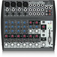 Behringer Xenyx 1202 12-Channel Audio Home Recording Editing Mixer w/ 3-Band EQ