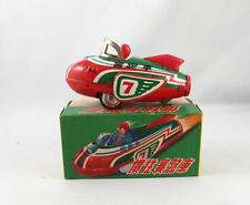 VINTAGE CHINA FRICTION TIN TOY MF 039 ROCKET RACER MINT IN BOX