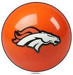 Denver Broncos Shift Knob Billiard Pool Ball NFL Threaded Custom Gear Shifter