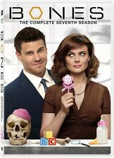Bones: The Complete Seventh Season [4 Discs] (2012, DVD NEUF) WS4 DISC SET