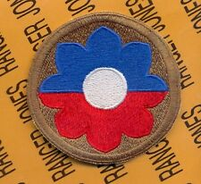 US Army 9th Infantry Division Theatre made OIF OEF patch c/e