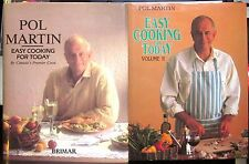 Easy Cooking for Today Vol. 1 (1988//608pp) + Vol. 2 (1990/576pp) by Pol Martin
