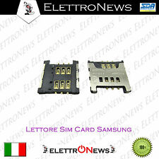 Lettore Sim Card Samsung  S5360, GT-S3850, GT-S5300 Galaxy Pocket, GT-S5380