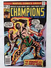 The Champions #10 Very Fine 8.0, Ghost Rider, Black Widow, Ice Man