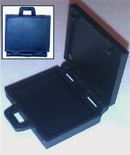 """Briefcase """"Satchel"""" with Working Lid - 1:18 Scale Accessory for 3-3/4"""" Figures"""