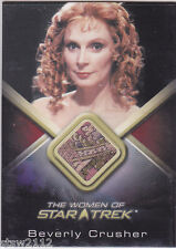 STAR TREK WOMEN OF WCC5 GATES MCFADDEN BEVERLY CRUSHER COSTUME RARE PATTERN