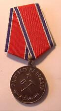 """Russian Soviet Medal """"For Courage during  Fire"""", order bravery"""
