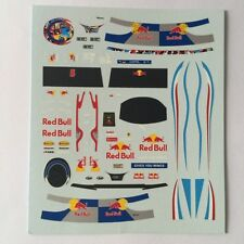 DECALS KIT 1/18 FIGURA + CASCO VETTEL F1 WORLD CHAMPION 2010 FIGURINO,PILOTA
