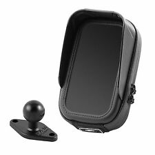 Apple iPhone 4 4S 5 5S 6 6S waterproof bag with antiglare & RAM Mount ball