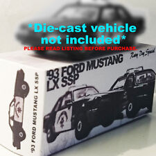 CUSTOM BOX ONLY for 93 FORD MUSTANG LX SSP CHP | RAINY DAY | IT'S A BOX!!