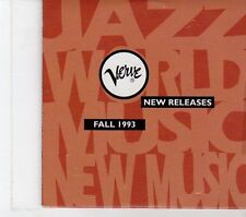 (FT802) Verve Sampler - Fall 1993 DJ CD