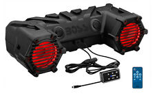 "6.5"" 450W Bluetooth Illuminated ATV/UTV/Marine Sound System Boss Audio ATV30BRGB"