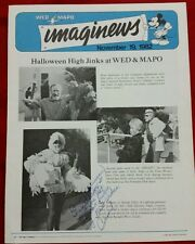 WED MAPO Imaginews Disney Employee Newsletter Halloween High Jinks Matt Dillon