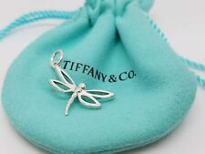 Tiffany & Co 925 Sterling Silver Dragonfly Charm Pendant NO chain NO pouch