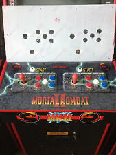 Mortal Kombat 1 2 3 4 Arcade Jamma Drilled Nos Fit Lexan Control Panel Cover NOS