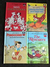 4 Disney's Wonderful World of Reading The Rescuers Winnie the Pooh and Tigger