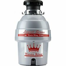 Waste King L-3300 Garbage Disposal Legend Series 3/4 Horsepower Continuous-Feed