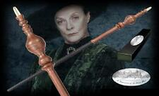 "Professor Minerva McGonagall Authentic 15"" Wand Harry Potter Movie Replica BNIB"
