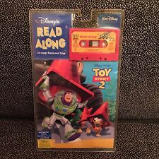 Toy Story 2 Read-Along Book & Cassette Tape - Disney Pixar - New Unopened
