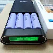 Intelligent LCD 4 Slot 18650 Battery Charger And Mobile Power Bank F SmartPhone
