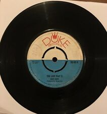 ANDY CAPP The Law Part 1 & 2 DUKE DU69 1970 VINYL EX-