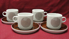 ROSENTHAL CHINA - STUDIO LINE - JOY ONE Pattern by Wolf Karnagel - CUP & SAUCER