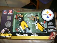 McFarlane Steelers Troy Polamalu and Hines Ward 2-Pack Sixburgh Titletown USA