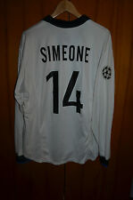 MATCH WORN INDOSSATA INTER MILAN FOOTBALL SHIRT MAGLIA JERSEY NIKE #14 SIMEONE