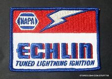 "NAPA ECHLIN SEW ON ONLY PATCH TUNED LIGHTNING IGNITION RACING 3 3/4"" x 2 3/4"""