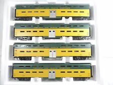 MTH 20-6558 CNW Chicago & North Western 70' Bi-Level 4 PK LN