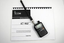 Nice ~ Icom IC-R2 Wideband Scanner Receiver  w/Manual