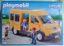PLAYMOBIL 6866 CITY LIFE le bus scolaire transport l'école salle classe enfants
