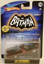Batman 1966 version: batmobile die cast modèle par hot wheels en 2008