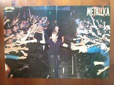 Q62 Poster Metallica James Hetfield Mis. 40 x 28 cm.