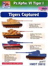 H-Models Decals 1/35 TIGER I TANKS CAPTURED TIGERS