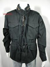 NWT RALPH LAUREN D&S Military/Combat Field Summer Jacket Black Washed size XL